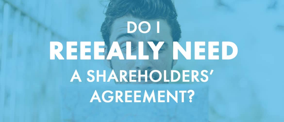 Shareholders agreement header image