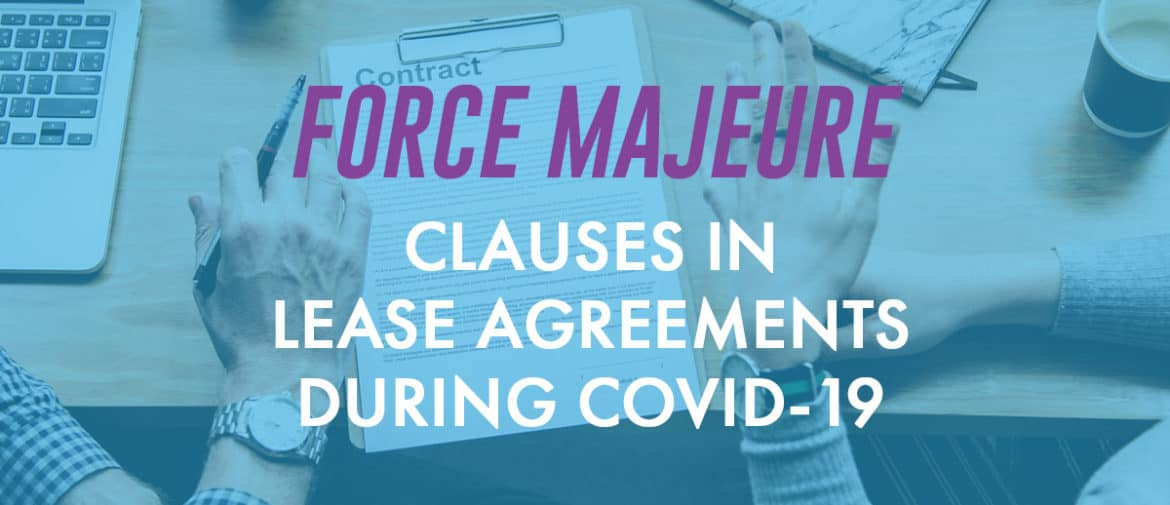 Force Majeure Lease Agreements Header