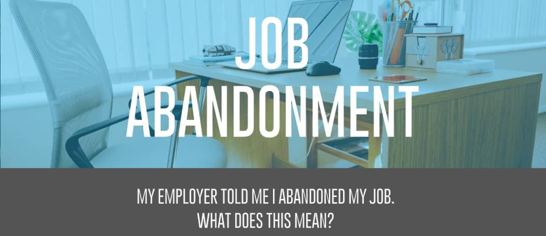 job abandonment header