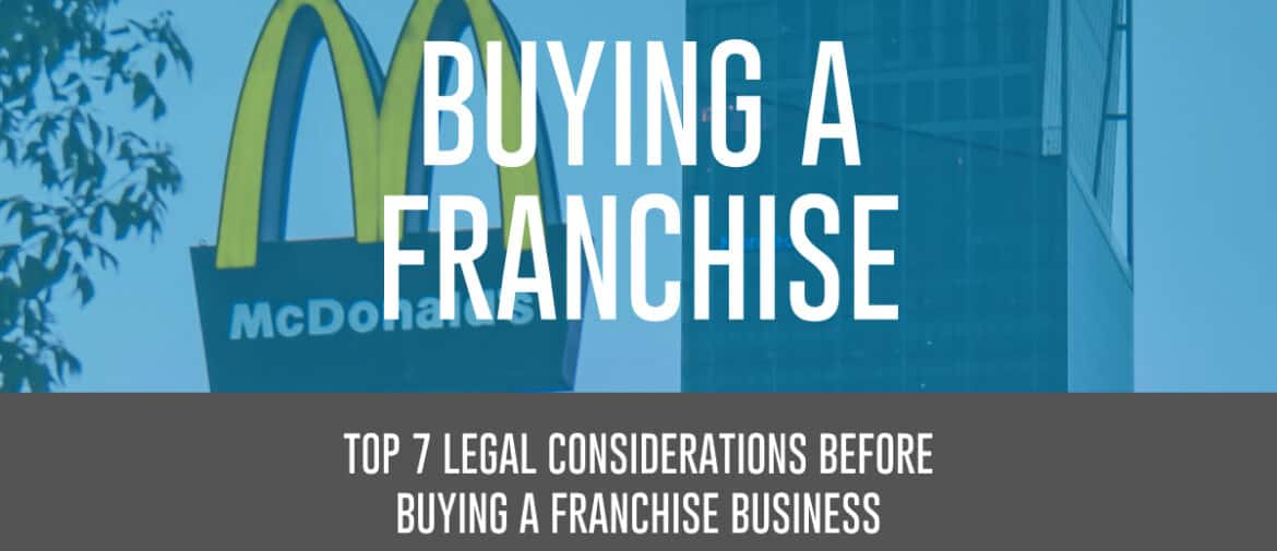 Buying a franchise header